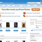 redes sociales y cine flixster