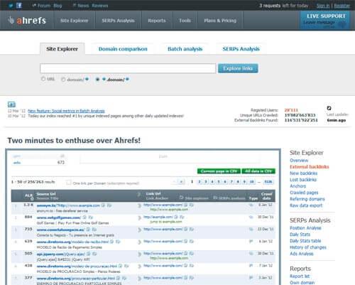 herramienta backlinks ahrefs