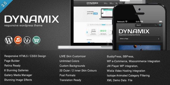 plantilla de wordpress responsive seo dynamix