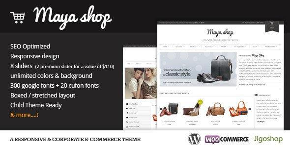 plantilla de wordpress responsive seo maya