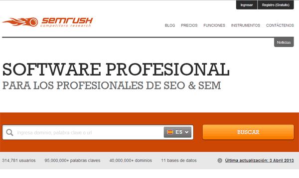 posicionar tu web semrush