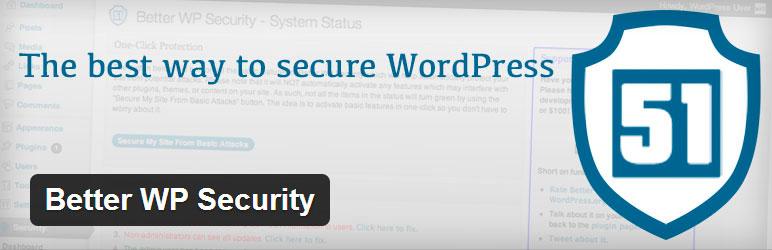 mejores plugins para porteger wordpress better wp security