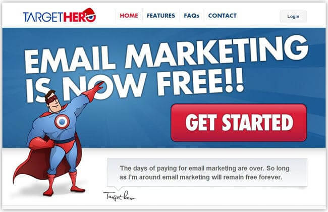 mejores herramientas gratuitas de email marketing targethero