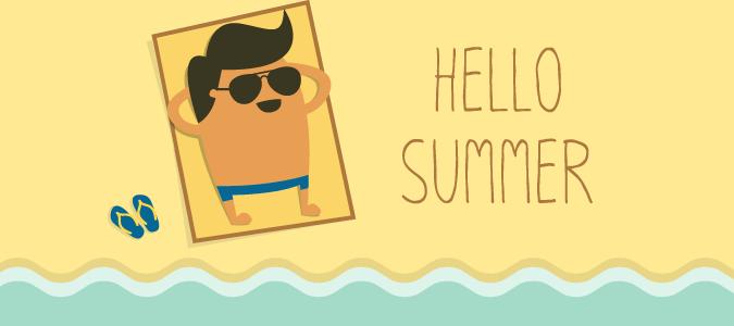 desconectar el verano