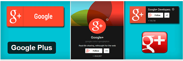 google plus widget