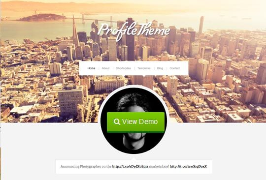 profile wordpress