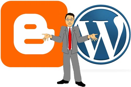 blogger wordpress