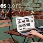 5 errores más comunes en un blog que quizás olvidaste