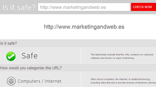 escanear web online