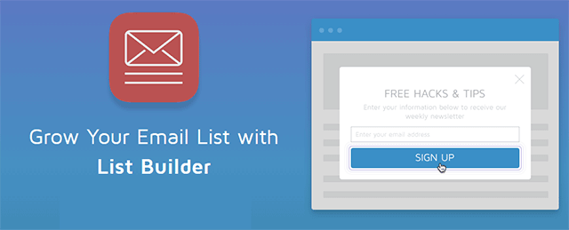 list builder sumome