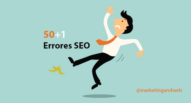 search engine optimization errores seo comunes