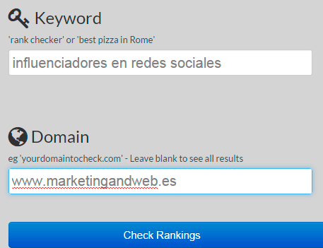SERP Rank Checker