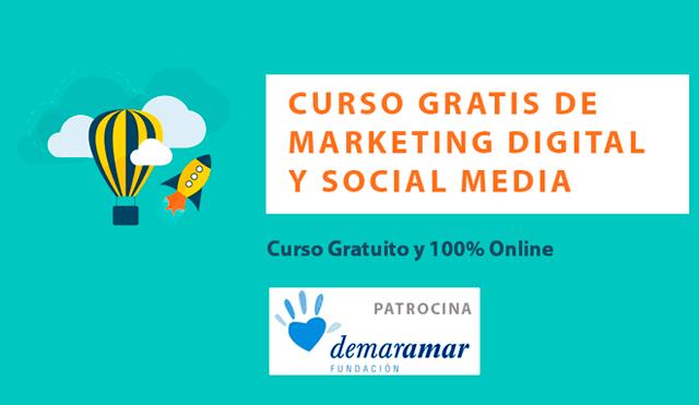 curso gratis marketing digital social media