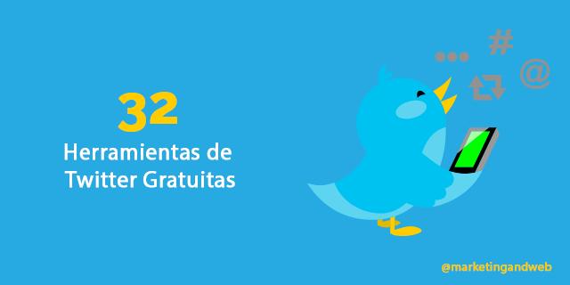32 herramientas gratuitas para Twitter básicas e importantes en 2018