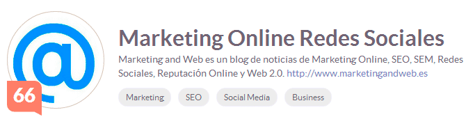 klout marketing and web