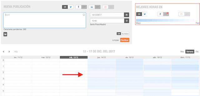 metricool herramienta para gestionar twitter