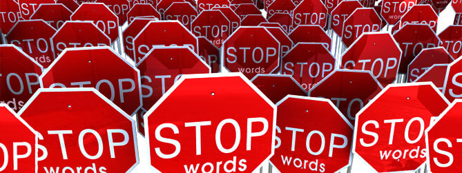 stop word seo