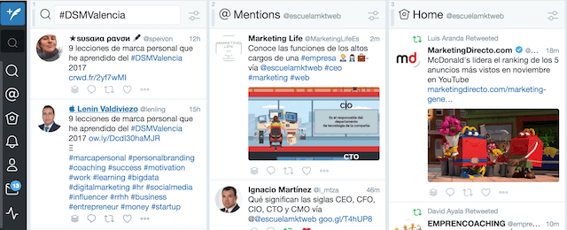 tweetdeck mejores herramientas gratis para twitter