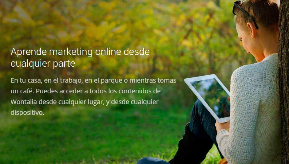 aprende marketing online