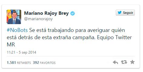 mariano rajoy tweet