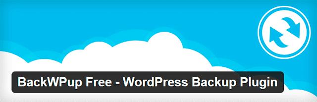 Back Pup Free plugin seguridad wordpress