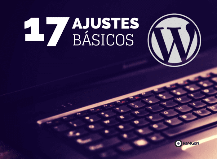 ajustes básicos wordpress