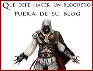 bloguero fuera de su blog