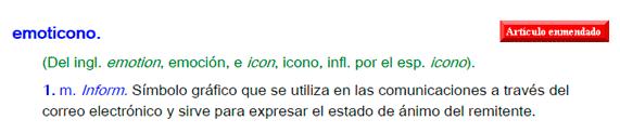 emoticono definicion