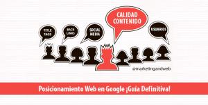 Posicionamiento Web en Google Guía Definitiva