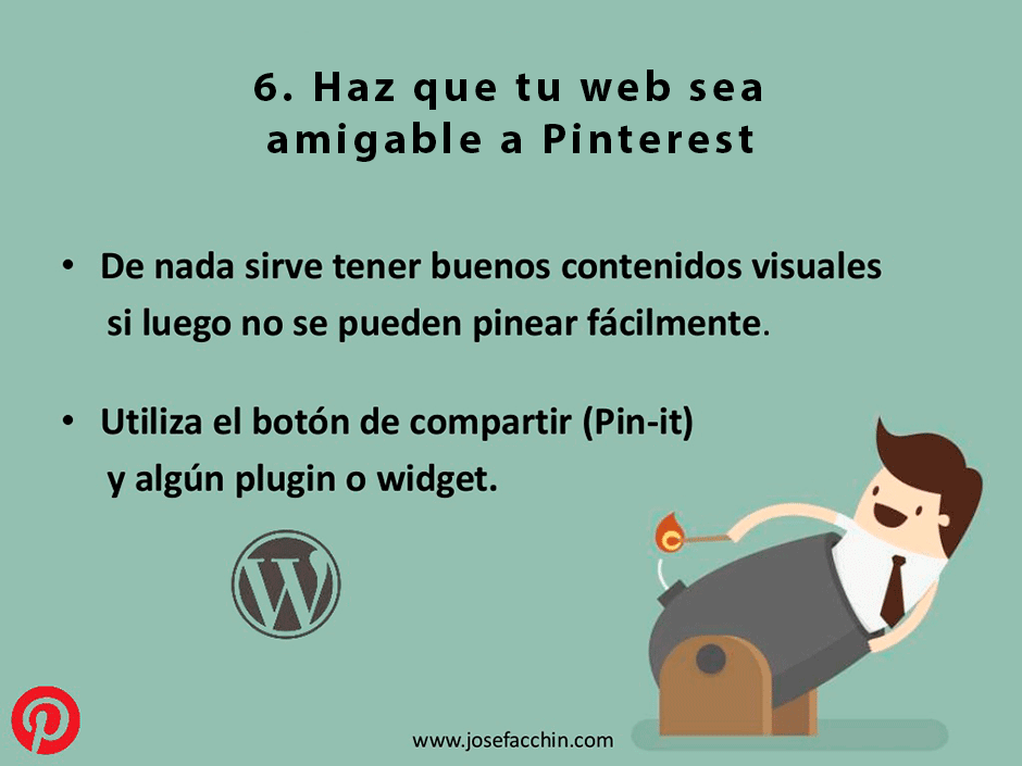 haz que tu web sea amigable a pinterest