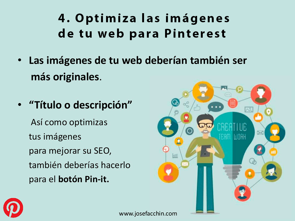 optimiza las imagenes de tu web para pinterest