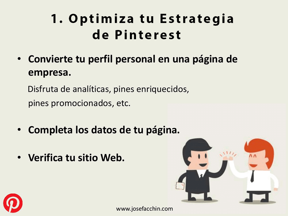optimiza tu estrategia de pinterest