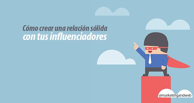 crear relaciones con influenciadores