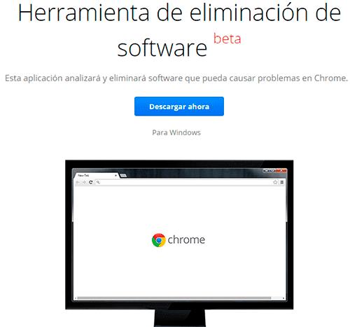 herramienta de eliminacion software
