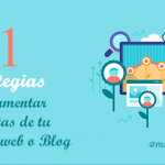 Cómo aumentar las visitas de una página web o Blog en 2015