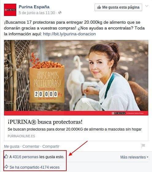 Facebook Purina España 1-min