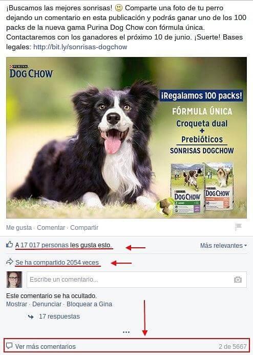 Facebook Purina España 2-min