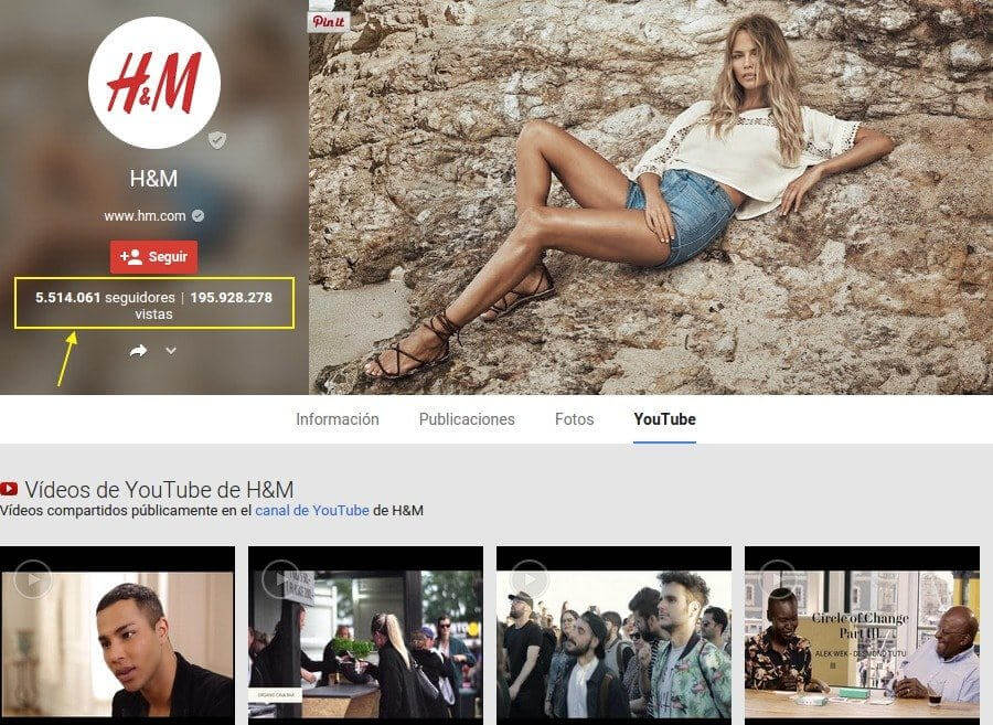 Google Plus H&M