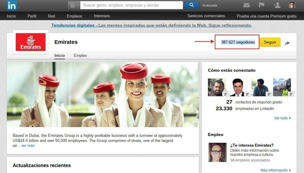 Linkedin Emirates