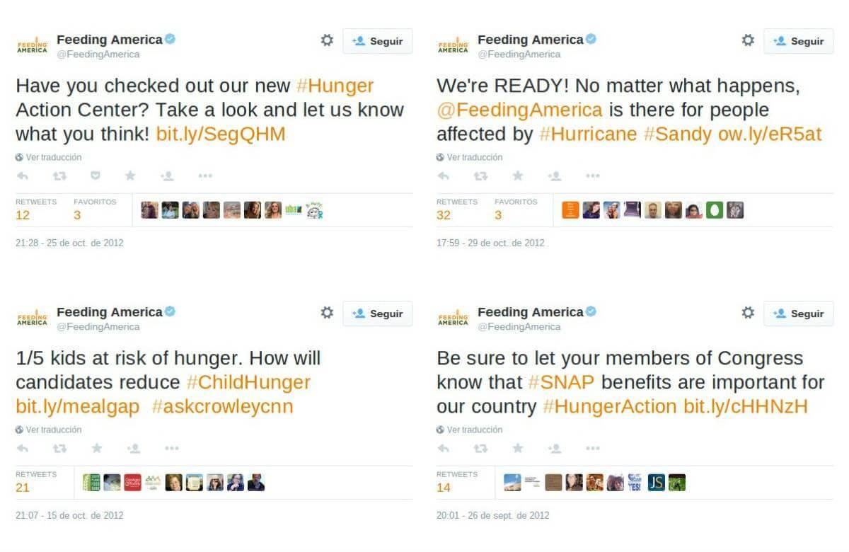Twitter Feeding America