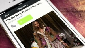 WeChat Burberry