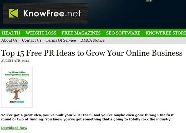 know free