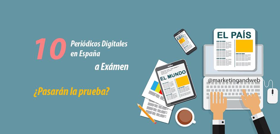 LosPeriódicos Digitales en España a examen SEO