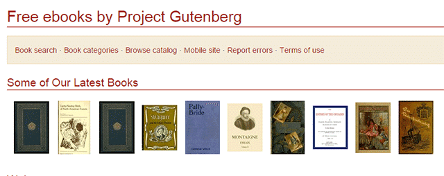 project gutemberg