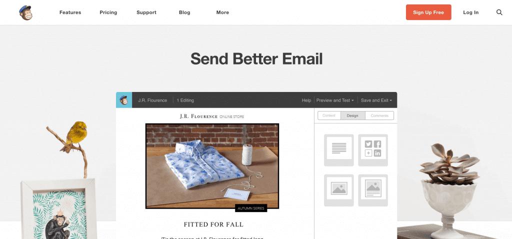 Inicio Mailchimp paso 1 newsletter