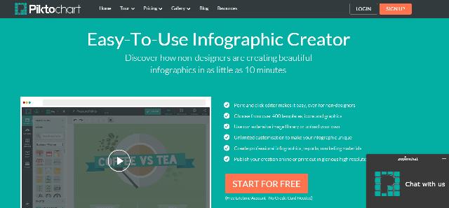 01b19ae89fe61 Cómo crear infografías online con Piktochart en solo 5 pasos