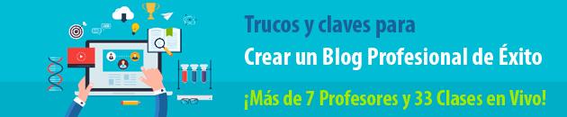 curso blog profesional