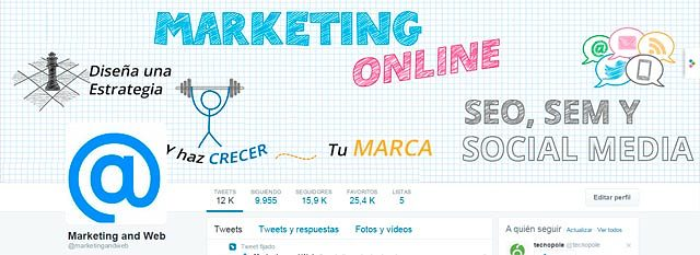 twitter marketing and web