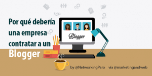 empresa contratar blogger