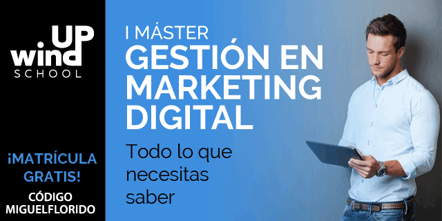 master en gestion de marketing digital